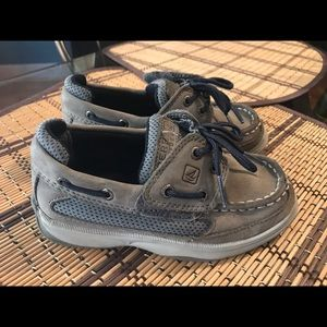 Toddler boy Sperry boat shoes size 10m